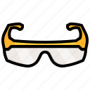 safety, glasses, construction, security, helmet, protection