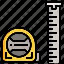 tape, measure, ruler, tailoring, carpentry