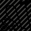 brum, clean, construction, tool, vacum, vacum cleaner icon