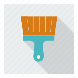 brush, construction, paint, painting, tool, utility, work icon