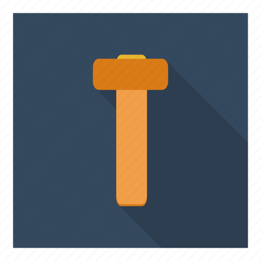 carpentry, construction, equipment, hammer, repair, tool, utility icon