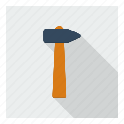 carpentry, construction, hammer, repair, tool, utility icon