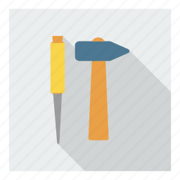 carpentry, construction, hammer, plumbing, repair, tools, work icon