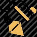 construction, measurement, plummet, repair, tool