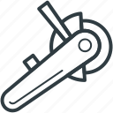 cutter, electric cutter, rotary, rotary cutter, rotary electric icon