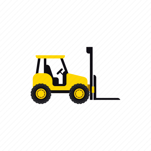 construction, forklift, heavy, transportation, truck, vehicle, warehouse icon
