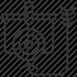 behavior, business, consumer, finance, market, payment, target icon