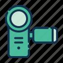 camcorder, video camera, handycam, video recording, camera