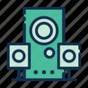 speaker, sound, audio