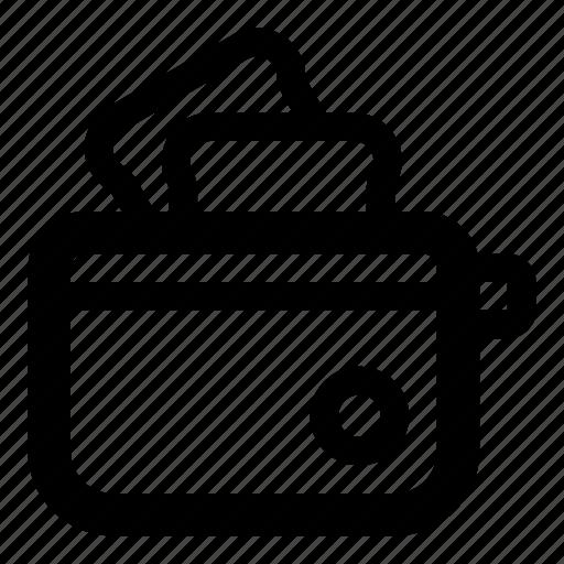 bread, bread toaster, breakfast, food, kitchen, toast, toaster icon