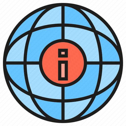 globe, info, information, world icon