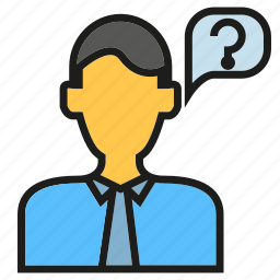 ask, people, problem, reception icon