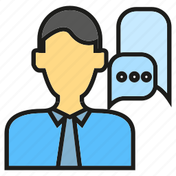 chat, communication, contact, people icon