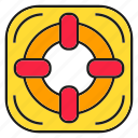 float, lifebuoy, safe, soar icon