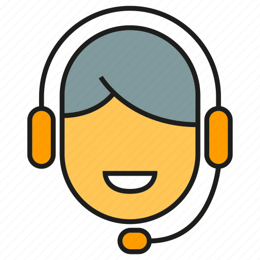 call center, call service, contact, customer service, headphone, operation, supporter icon