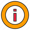 data, info, information icon