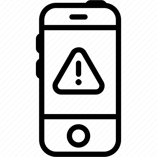 alert, call, communication, iphone, mobile, phone, smartphone icon
