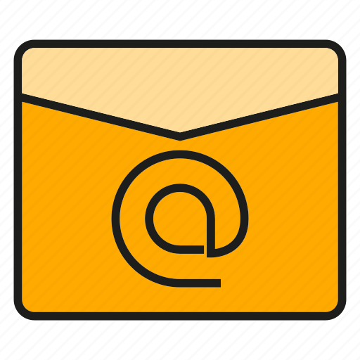 address, communicate, email, letter, send icon