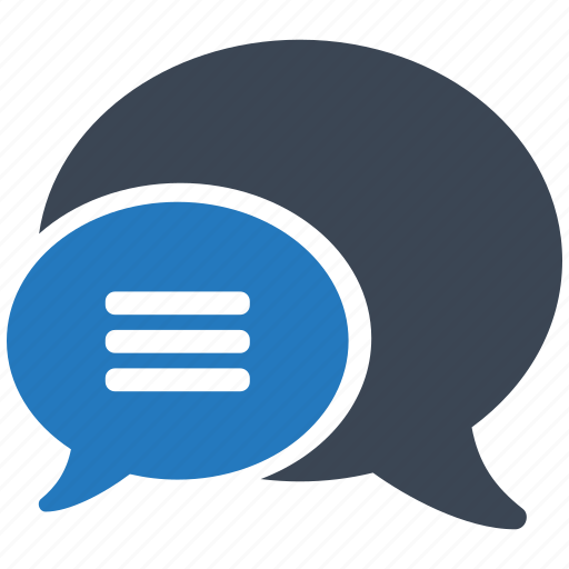 bubble, chat, communication, contact, message, social, talk icon
