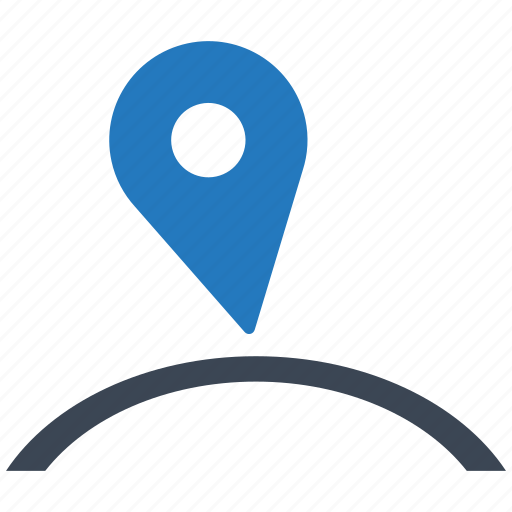 arrow, direction, location, map, navigation, pointer, world icon