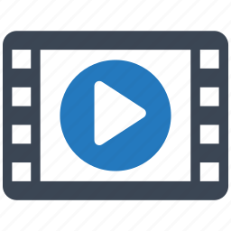 film, maker, media, movie, multimedia, player, video icon