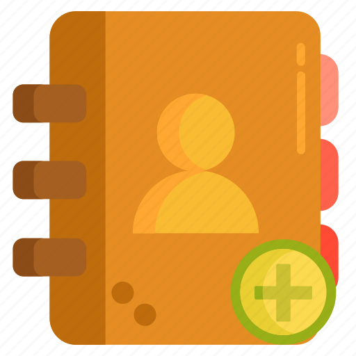 add contact, contact, contact list, contacts, recipients icon