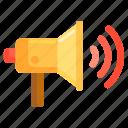 advertising, bullhorn, loudspeaker, marketing, sound, volume