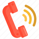 call, calling, phone call icon