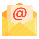 correspondence, email, mail icon