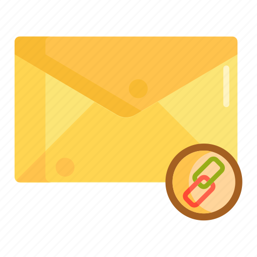 attachment, chain, chain mail, email, mail, mail attachment icon