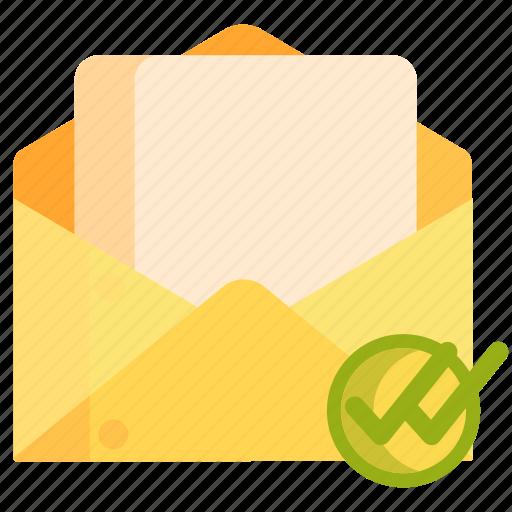 message, message read, read icon