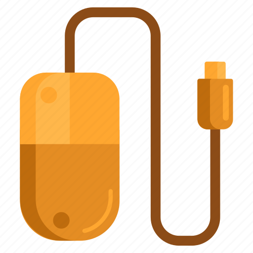 mouse, pc mouse, peripheral, usb mouse icon