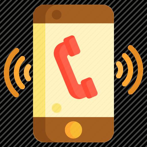 call, phone, phone call, phone ringing icon
