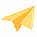 delivery, paper plane, send, sending icon