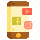 media, social, social media, social network, social networking icon