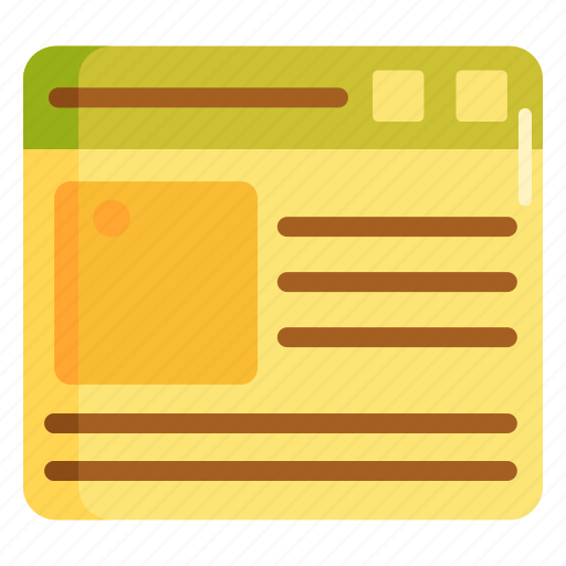 layout, template, web design, web layout, web template, website template icon