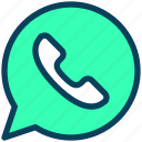 contact, call, message, communication, phone, chat