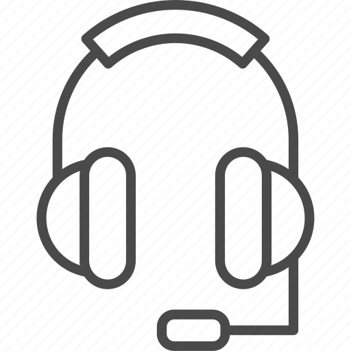 contact, contact us, headphones, headset, microphone, service, support icon