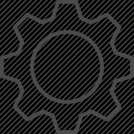 cog, cogwheel, gear, gear wheel, service, setting, wheel icon