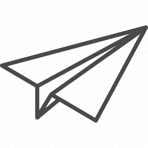 airplane, fly, freedom, freelance, paper, plane, start up icon