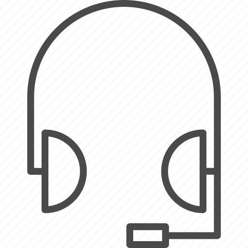 contact, customer, headphones, headset, microphone, service, support icon