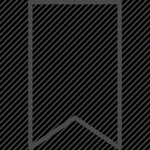 bookmark, favorite, label, mark, ribbon, tag, web icon