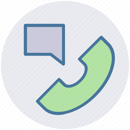 call, message, phone, receiver, sms, talk, telephone icon