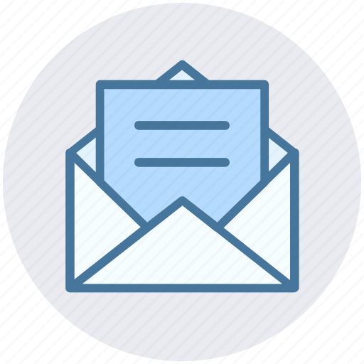 email envelope letter message open open envelope receive icon