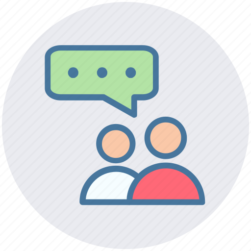 chat, chatting, conversion, message, peoples, support, users icon