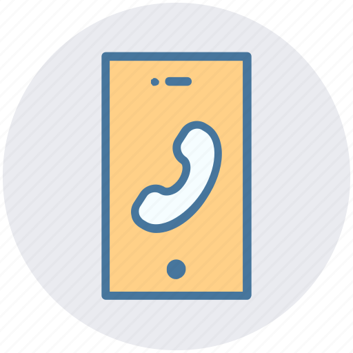 call, calling, mobile, smartphone, talk, telephone icon