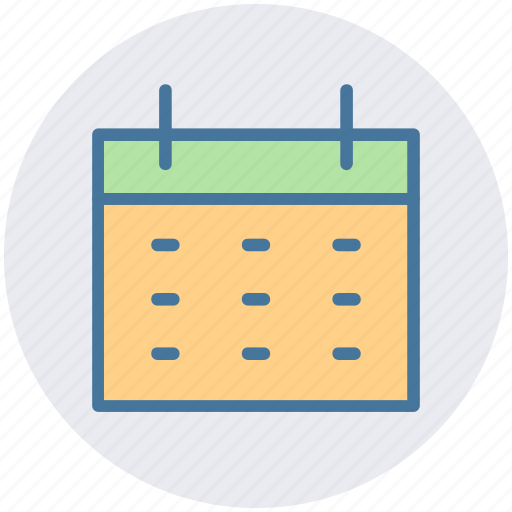 agenda, appointment, calendar, date, month, schedule icon