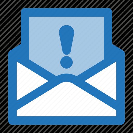 envelope, important, inbox, letter, mail icon