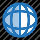 earth, globe, website, world icon