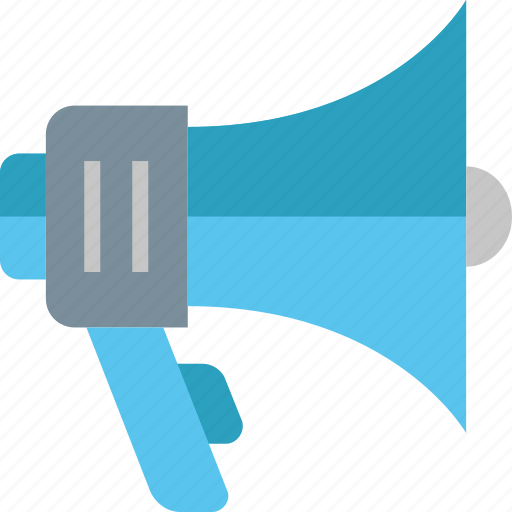 Bullhorn, advertising, announcement, loudspeaker, marketing, megaphone, promotion icon - Download on Iconfinder